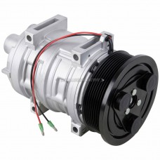 AC Compressor & A/C Clutch Replaces Zexel 500611-2330 MEI 5880B & Murray 2521657 , 5880B , 68619 , QP21-1657 TAMA TM21 - PV8