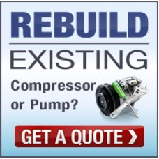 Remanufacture (Rebuild) existing air conditioning compressor (pump) AC Compressor Email us for a Quote