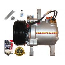 NEW A/C Compressor w/Clutch for Kubota M126 M135 & M6 Tractors w/6 grooves 3P999-00620 447280-3050  447280-3080 KIT