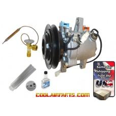 447280-3090 NEW AC Compressor Kubota Tractor 3C581-50060  3C581-97590 FULL A/C Repair KIT 447280-3080 447260-5351 3C58150060