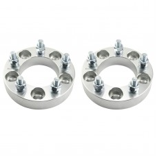 2 Wheel Spacers Adapters 5x4.75 1.25"