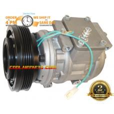 New A/C Compressor 2208-6013A For Doosan DAEWOO SOLAR V EXCAVATOR DOOWON 22086013 440205-00070 2208-60138