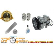 447280-3090 NEW AC Compressor Kubota Tractor 3C581-50060 3C581-97590 FULL A/C KIT 447280-3080 3C58150060 689 block 447260-5781