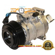 DCP99520 Denso Style NEW AC Compressor John Deere RE502697