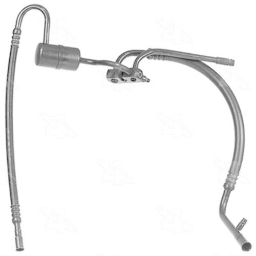nissan quest villager new a  c hose refrigerant manifold suction hose w  o rear ac 10351