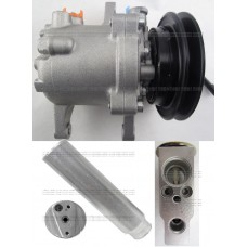 447280-3090 NEW AC Compressor Kubota Tractor 3C581-50060 3C581-97590 FULL A/C Repair KIT 447280-3080 3C58150060 689 block 447260-5781