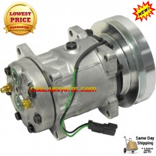 Caterpillar New AC Compressor Sanden Style 4468 4479 4604 4640 4656 4658 4877 7984 7988 8066 8064 8107 8109	 3E-1906, 3E-1907