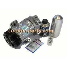 For Pontiac Vibe 2003-2008 Complete AC A//C Repair Kit w// NEW Compressor /& Clutch