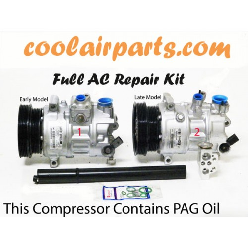 jetta  golf reman ac compressor ac repair kit