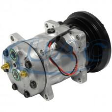 Caterpillar OEM Sanden 4596 New A/C AC Compressor 4596U, 4608, 4657, 8108 4608 3E1907 3641450