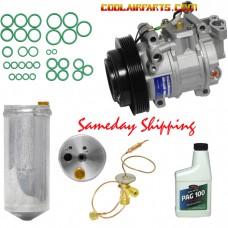 1995 - 2006 Nissan 200SX Sentra G20 1.8L 2.0L New A/C Compressor 926008B760 FULL AC KIT